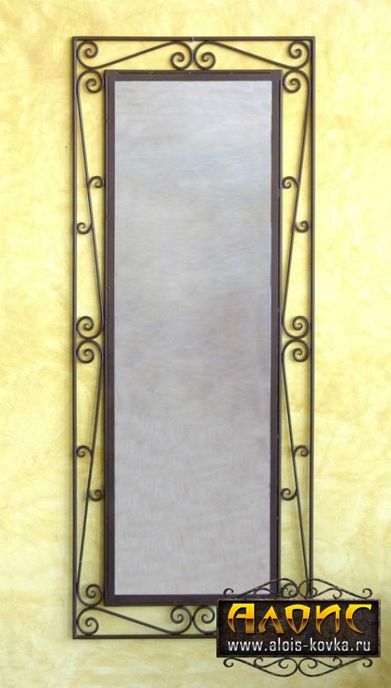 Зеркало в кованой раме своими руками 320