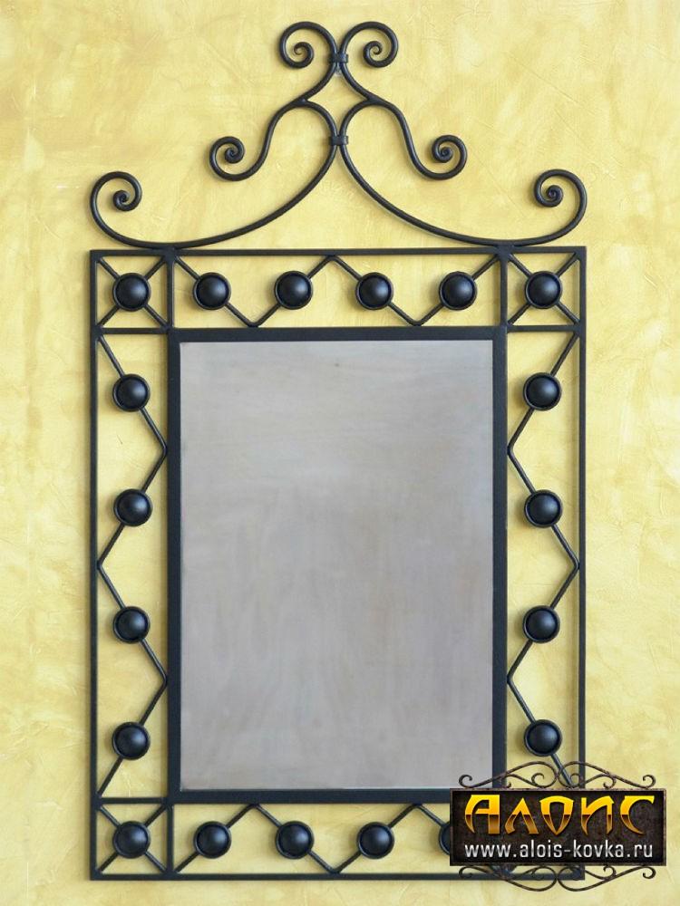 Зеркало в кованой раме своими руками 1106