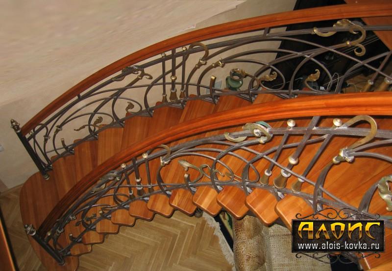 Кованые лестницы для дома по лучшим ценам