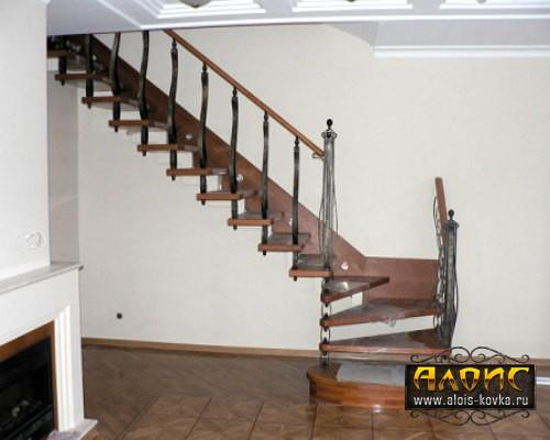 Кованые лестницы для дома от кузницы Алоис