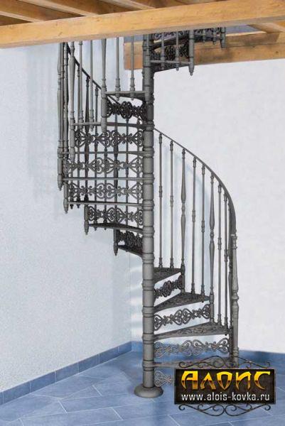 Подбор дизайна кованых лестниц для дома по фото на сайте