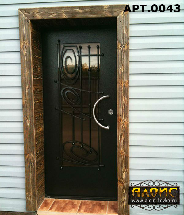 производство входных дверей с ковкой с прайс листом