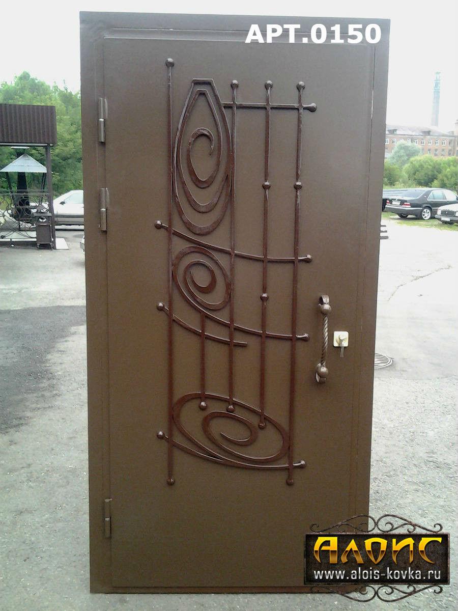 двери металлические входные цены ковкой