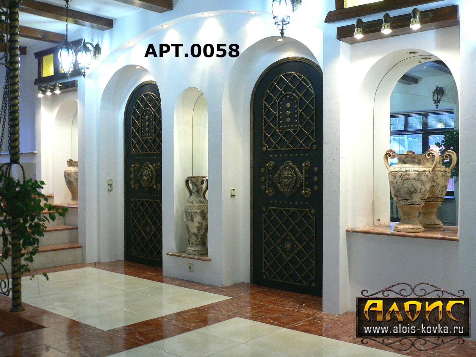 двери металлические с элементами стекла и ковки г балашиха