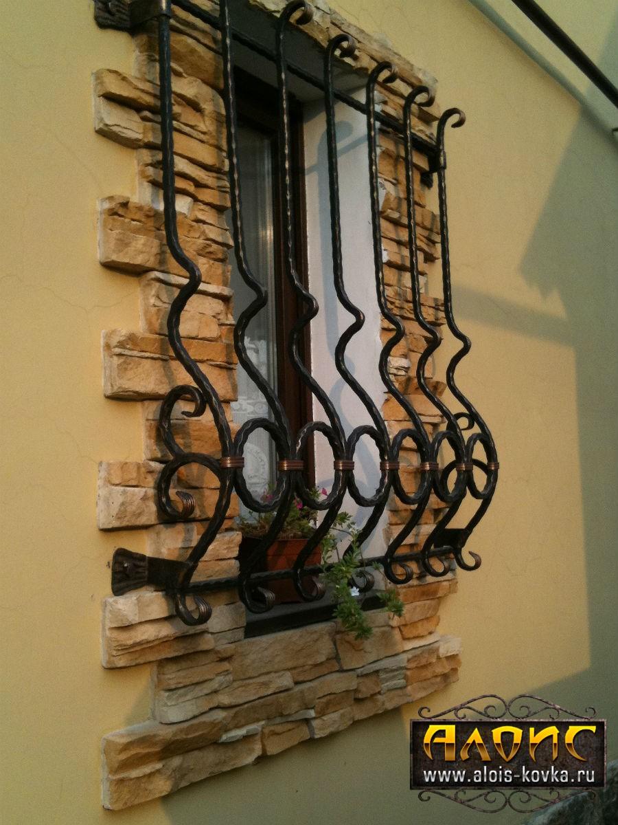 Ажурные решетки на окна кованые фото галерея