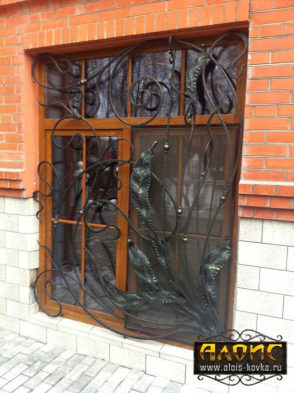 По Вашим эскиам кованые решетки на окна в Москве на зака