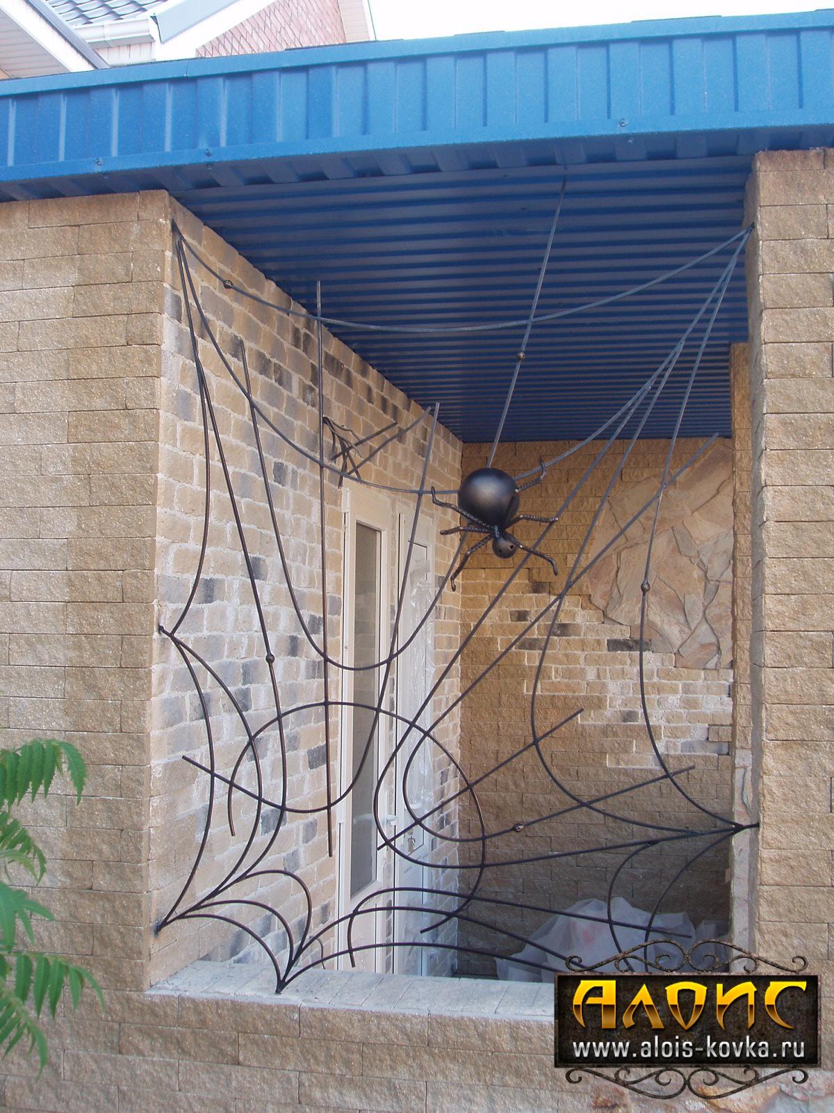 Подобрать красивые кованые решетки на окна по фото на заказ