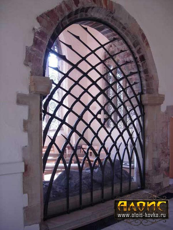 Ажурные кованые решетки на окна, изготовление и продажа
