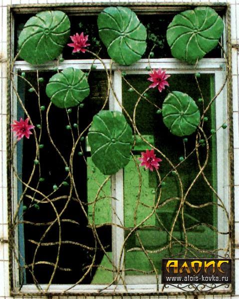 Кованые решетки на окна купить или заказать у производителя
