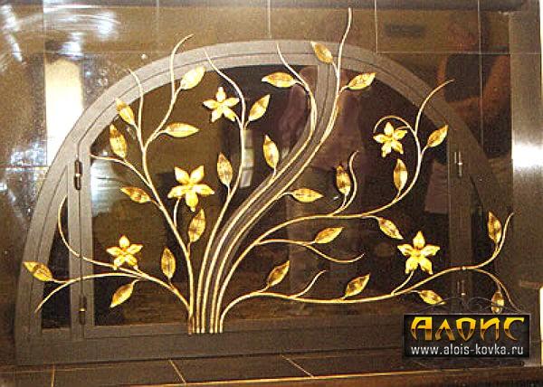 Кованые решетки на окна, производство в Москве и Московской области