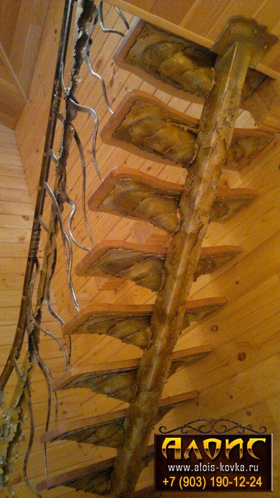 заказать кованые лестницы
