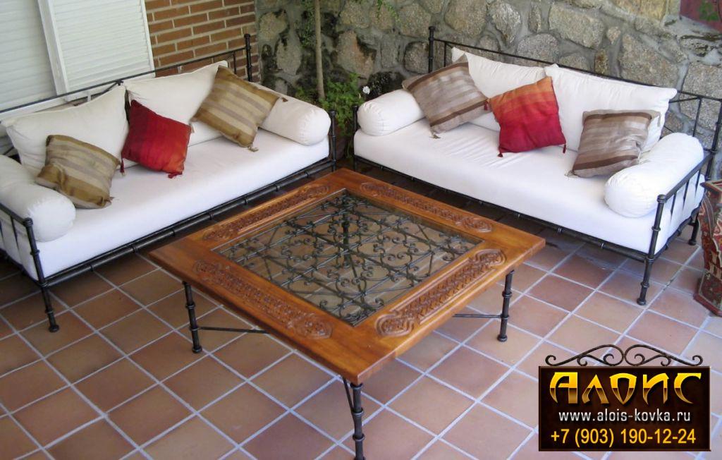 Кованая мебель. Производство кованой мебели на заказ.