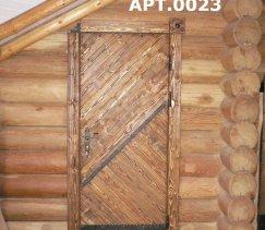 Двери в деревянном доме межкомнатные