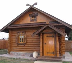 Входные двери в баню